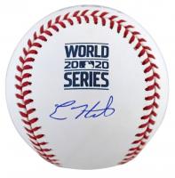 Enrique Hernandez Signed 2020 World Series Baseball (Fanatics Hologram & MLB Hologram) at PristineAuction.com