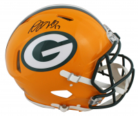 Davante Adams Signed Packers Full-Size Authentic On-Field Speed Helmet (JSA COA) at PristineAuction.com