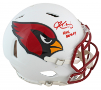 """Kyler Murray Signed Cardinals Full-Size Authentic On-Field Matte White Speed Helmet Inscribed """"Hail Murray"""" (Beckett COA) at PristineAuction.com"""