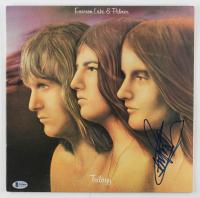 "Carl Palmer Signed ""Trilogy"" Vinyl Record Album (Beckett COA) at PristineAuction.com"