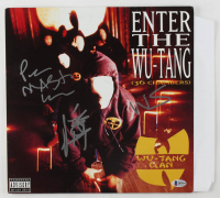 "Inspectah Deck, Method Man & Masta Killa Signed ""Enter The Wu-Tang"" Vinyl Record Album (Beckett LOA) at PristineAuction.com"