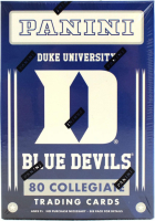 2015 Panini Collegiate Series Duke Blue Devils Multi-Sport Blaster Box with (10) Packs at PristineAuction.com