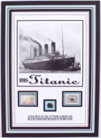 Authentic Coal From Titanic Wreckage on a 6x8 Photo (The Zone COA) at PristineAuction.com
