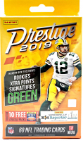 2019 Panini Prestige Football Hanger Box with (60) Cards at PristineAuction.com