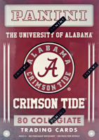 2015 Panini Collegiate Series Alabama Crimson Tide Multi-Sport Blaster Boxes with (10) Packs at PristineAuction.com