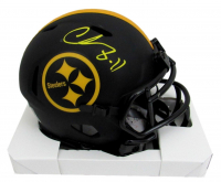 Chase Claypool Signed Steelers Eclipse Alternate Speed Mini Helmet (Beckett COA) at PristineAuction.com
