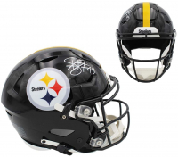 Troy Polamalu Signed Steelers Full-Size Authentic On-Field SpeedFlex Helmet (Radtke COA) at PristineAuction.com