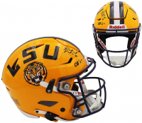 "Patrick Peterson Signed LSU Tigers Full-Size Authentic On-Field SpeedFlex Helmet Inscribed ""DB U"" (Radtke COA) at PristineAuction.com"