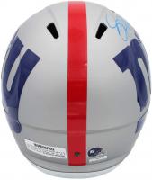 Jason Pierre-Paul Signed Giants Full-Size AMP Alternate Speed Helmet (Radtke COA) at PristineAuction.com