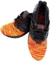 Kit Harington Sigend Game of Thrones Adidas X House of Targaryen Ultraboost Red Shoes (Radtke COA) at PristineAuction.com