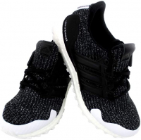 Kit Harington Signed Game of Thrones Adidas X Night's Watch Ultraboost Black Shoes (Radtke COA) at PristineAuction.com