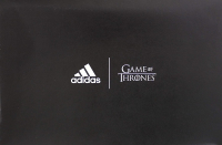 Kit Harington Signed Game of Thrones Adidas X House of Stark Ultraboost Grey Shoes (Radtke COA) at PristineAuction.com
