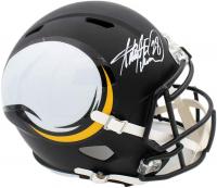 Adrian Peterson Signed Vikings Full-Size AMP Alternate Speed Helmet (Beckett COA) at PristineAuction.com