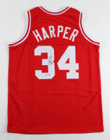 Ron Harper Signed Jersey (PSA Hologram) at PristineAuction.com