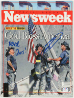 """Robert O'Neill Signed 2001 """"Newsweek"""" Magazine Inscribed """"Never Quit!"""" (PSA COA) at PristineAuction.com"""
