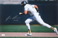 "Jose Canseco Signed Athletics 12x18 Photo Inscribed ""40 / 40"" (JSA COA) at PristineAuction.com"