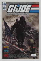 """Ray Park, Larry Hama & Vo Nguyen Signed 2019 """"G.I. Joe: A Real American Hero!"""" Issue #263 IDW Comic Book with Multiple Inscriptions (JSA COA) at PristineAuction.com"""
