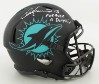 """Dan Marino Signed Dolphins Full-Size Eclipse Alternate Speed Helmet Inscribed """"Forever A Dolphin"""" (JSA COA) at PristineAuction.com"""