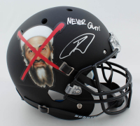 "Robert O'Neill Signed ""Osama Bin Laden"" Full-Size Custom Matte Black Helmet Inscribed ""Never Quit!"" (PSA COA) at PristineAuction.com"