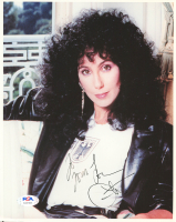 Cher Signed 8x10 Photo (PSA Hologram) at PristineAuction.com