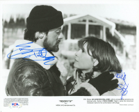 "Sylvester Stallone & Tali Shire Signed ""Rocky IV"" 8x10 Photo (PSA LOA) at PristineAuction.com"
