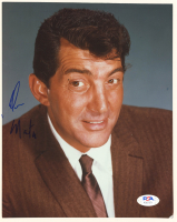 Dean Martin Signed 8x10 Photo (PSA LOA) at PristineAuction.com