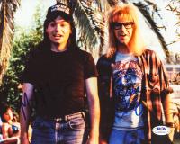 "Dana Carvey & Mike Myers Signed ""Wayne's World"" 8x10 Photo (PSA LOA) at PristineAuction.com"