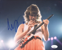 Eddie Van Halen Signed 8x10 Photo (JSA COA) at PristineAuction.com