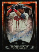 Ronald Acuna Jr. 2019 Topps Tribute Iconic Perspectives Autographs Orange #IPRAJ at PristineAuction.com