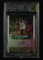 Jaylen Brown 2016-17 Studio Breakout Signatures #10 (BGS 9) at PristineAuction.com