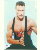 Jean-Claude Van Damme Signed 8x10 Photo (PSA Hologram) at PristineAuction.com