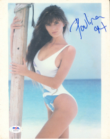 Paulina Porizkova Signed 8x10 Photo (PSA Hologram) at PristineAuction.com