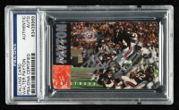 Walter Payton Signed 1995 Bears Calling Card (PSA Encapsulated) at PristineAuction.com