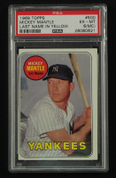Mickey Mantle 1969 Topps #500A (PSA 6) (MC) at PristineAuction.com