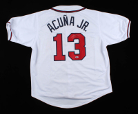 Ronald Acuna Jr. Signed Jersey (Beckett COA) at PristineAuction.com