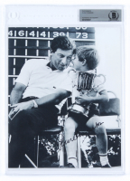 Peter Thomson Signed 8x10 Photo (BGS Encapsulated) at PristineAuction.com