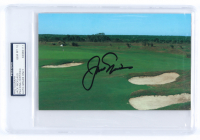 Jack Nicklaus Signed 5x8 Photo (PSA Encapsulated) at PristineAuction.com