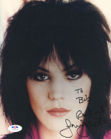 """Joan Jett Signed 8x10 Photo Inscribed """"Rock On!"""" (PSA Hologram) at PristineAuction.com"""