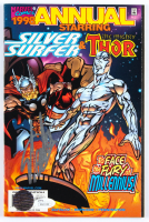 "Stan Lee Signed 1998 ""Silver Surfer & Thor"" Marvel Comic Book (JSA COA & Lee Hologram) at PristineAuction.com"