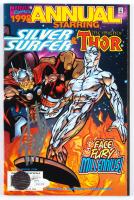 """Stan Lee Signed 1998 """"Silver Surfer & Thor"""" Marvel Comic Book (JSA COA & Lee Hologram) at PristineAuction.com"""