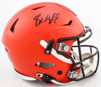 Baker Mayfield Signed Browns Full-Size Authentic On-Field SpeedFlex Helmet (Beckett Hologram) at PristineAuction.com