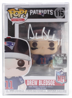 Drew Bledsoe Signed Patriots #115 Funko Pop! Vinyl Figure (JSA COA) at PristineAuction.com