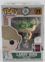 Larry Bird Signed Celtics #77 Funko Pop! Vinyl Figure (Schwartz COA & Bird Hologram) at PristineAuction.com