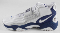 Barry Sanders Signed Lions Nike Football Shoe (Schwartz COA) at PristineAuction.com