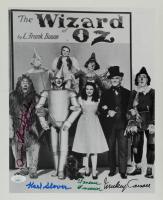 """The Wizard Of Oz"" 11x14 Photo Cast-Signed by (4) with Mickey Carroll, Jerry Maren, Clarence Swensen, Karl Slover (JSA COA) at PristineAuction.com"