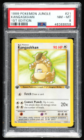 Kangaskhan 1999 Pokemon Jungle 1st Edition #21 (PSA 8) at PristineAuction.com