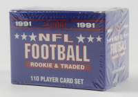 1991 Score NFL Football Rookie and Traded Complete Set of (110) Baseball Cards at PristineAuction.com