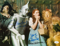 """""""The Wizard of Oz"""" 11x14 Photo Cast-Signed by (4) with Karl Slover, Mickey Carroll, Jerry Maren & Donna Stewart-Hardway (JSA COA) at PristineAuction.com"""