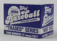 1988 Topps Traded Series Complete Set of (132) Baseball Cards at PristineAuction.com