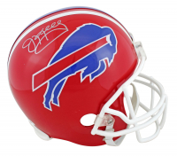 Jim Kelly Signed Bills Throwback Full-Size Helmet (JSA COA) at PristineAuction.com